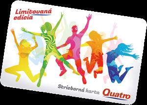 Karta Quatro.Pozicky Online Quatro Strieborna Karta