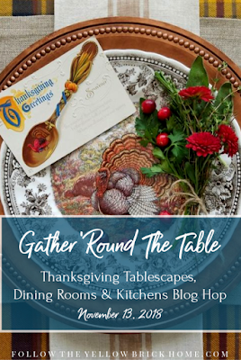 My Thrift Store Addiction Thanksgiving tablescape