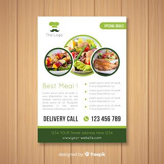 brosur bisnis kuliner