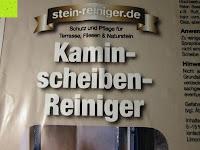 Scheibenreiniger Name: Naturstein und Specksteinofen-Pflegeset 4 tlg.