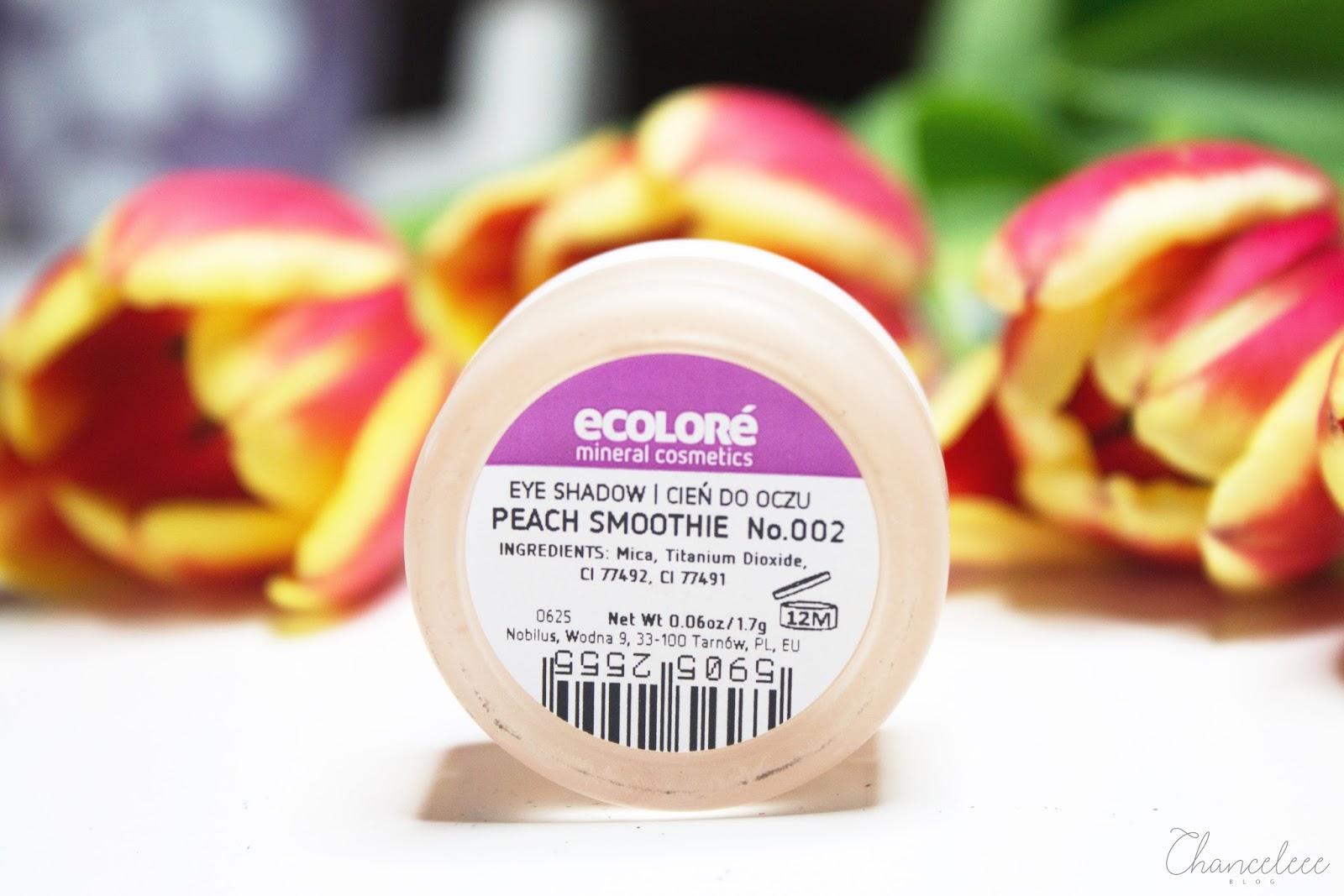 naturalne kosmetyki do makijażu firmy ecolore