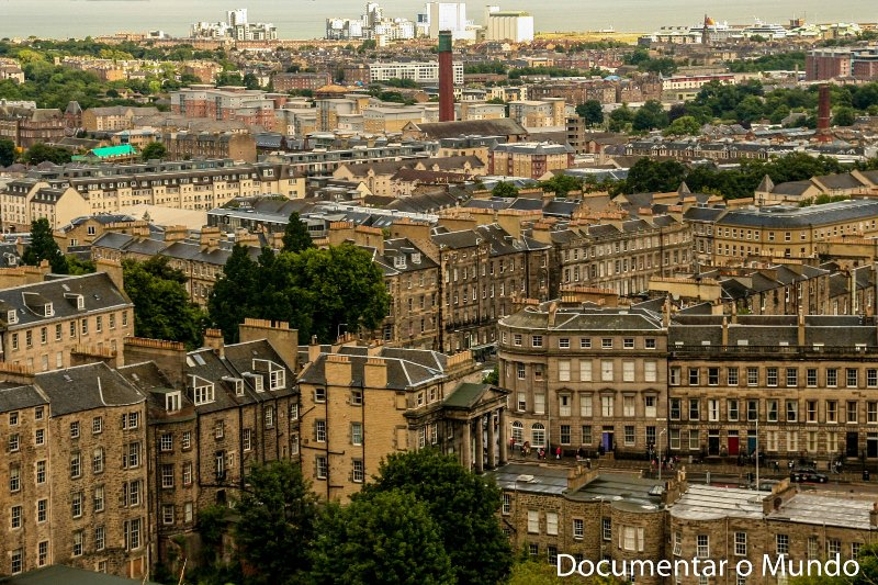 Firth of Forth; Calton Hill