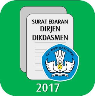Surat Edaran Nomor : 10/D/KR/2017, Tentang Buku Teks Pelajaran Kurikulum 2013 Melalui Buku Sekolah Elektronik (BSE).