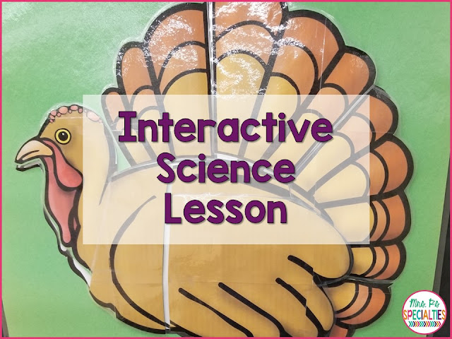 Science can be a tough subject for students with disabilities. We need to use highly engaging and interactive materials in order to engage and focus students. When students are engaged, learning is better. Here is an easy way to make science interactive.