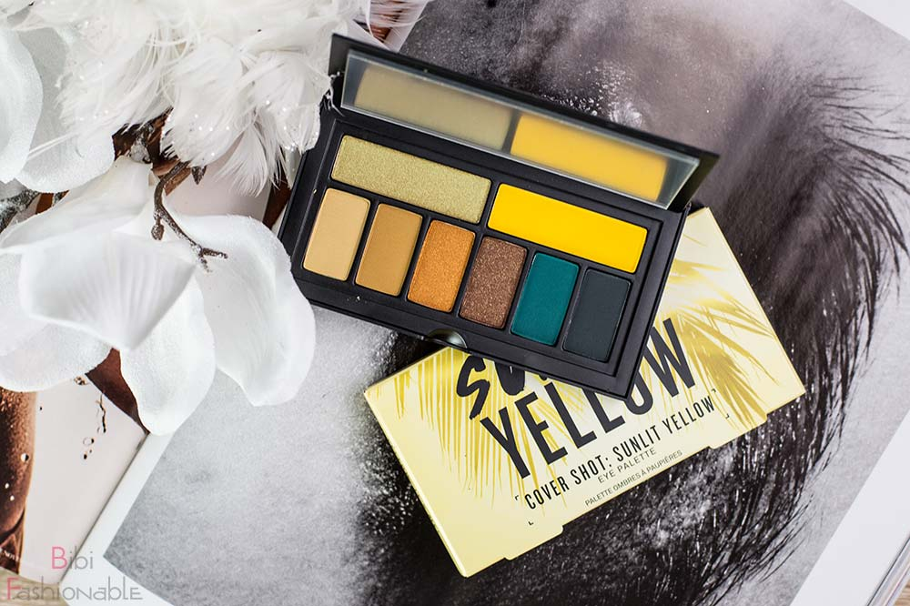 Smashbox Cover Shot Sunlit Yellow Flatlay offen