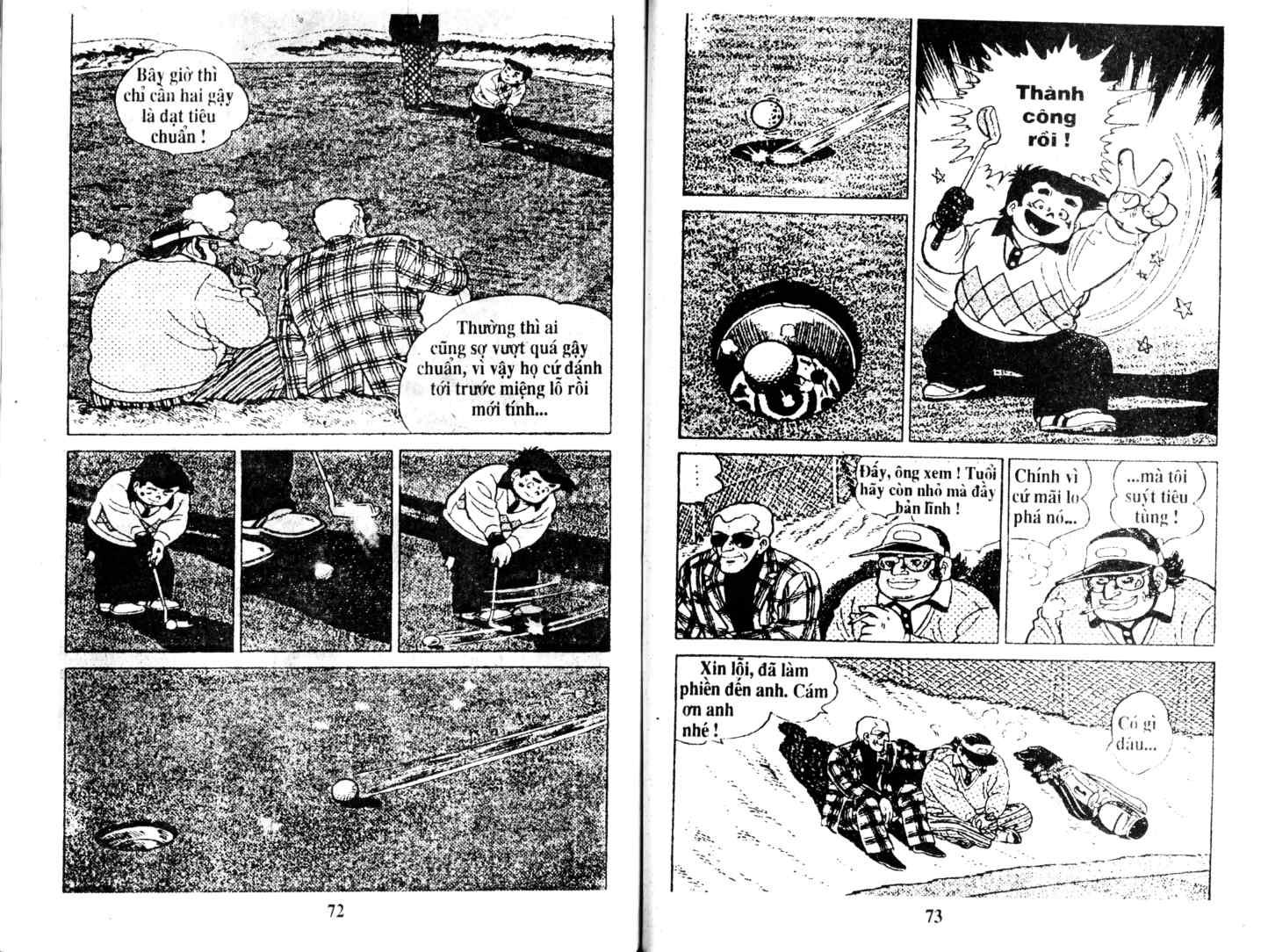 Ashita Tenki ni Naare chapter 14 trang 35