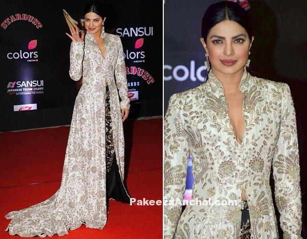 Priyanka Chopra in Anamikha Khanna @ The Stardust Awards 2016