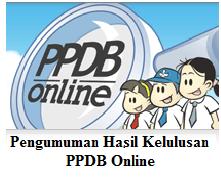 Hasil Kelulusan PPDB ONLINE 2019/2020