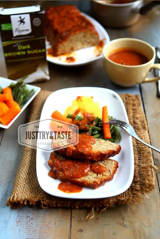 Resep Meatloaf dengan Barbecue Sauce