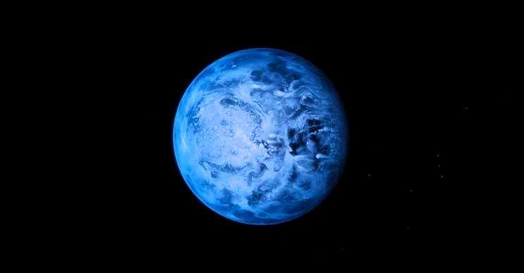 HD 189733b gezegeni saate 8.700 kilometre hızla esen rüzgarlara sahiptir.