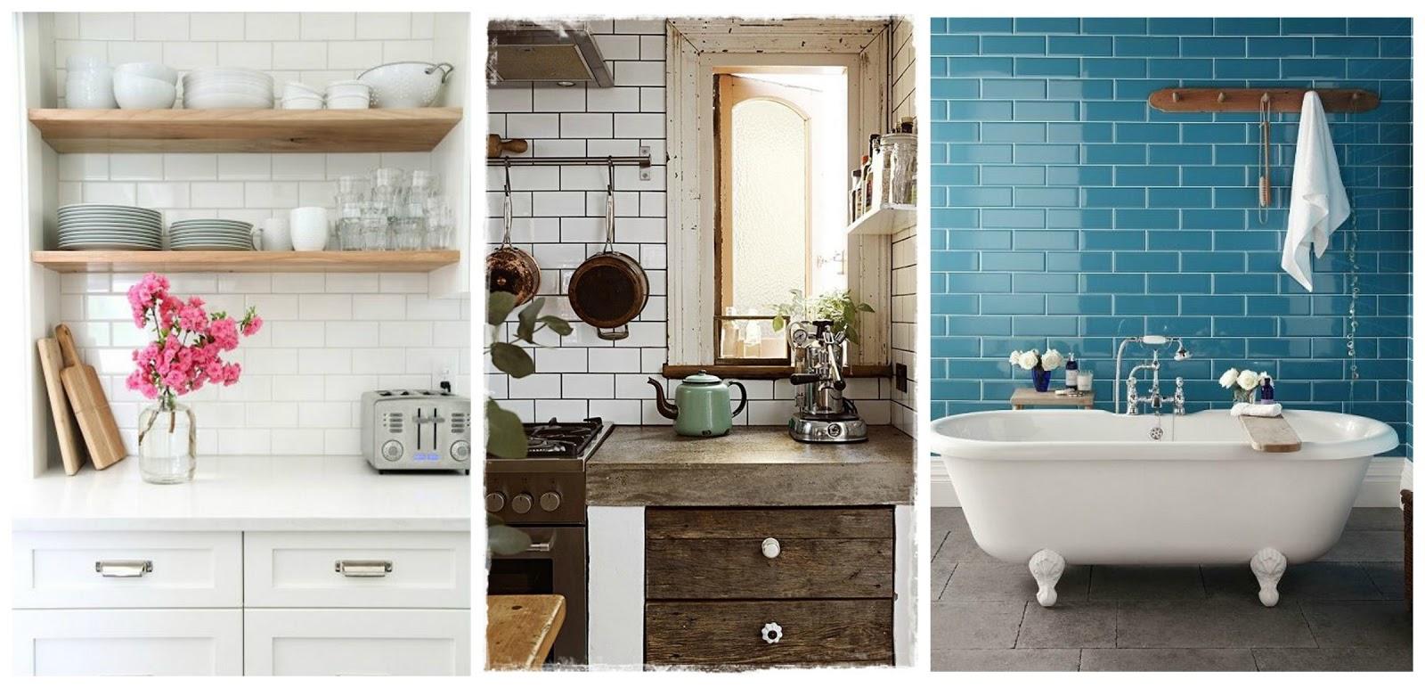 My heartmade house el azulejo metro un cl sico renovado for Azulejo metro cocina