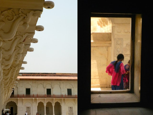 visiting Agra Fort by betitu