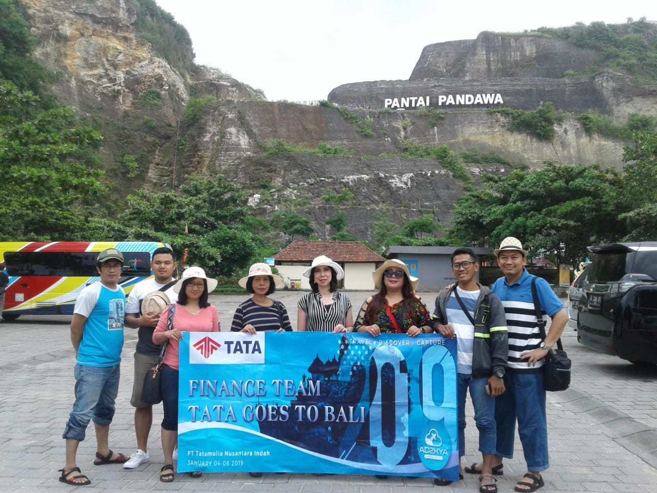 BALI TOUR 04 - 06 JAN 2019 WITH TATA'S GROUP