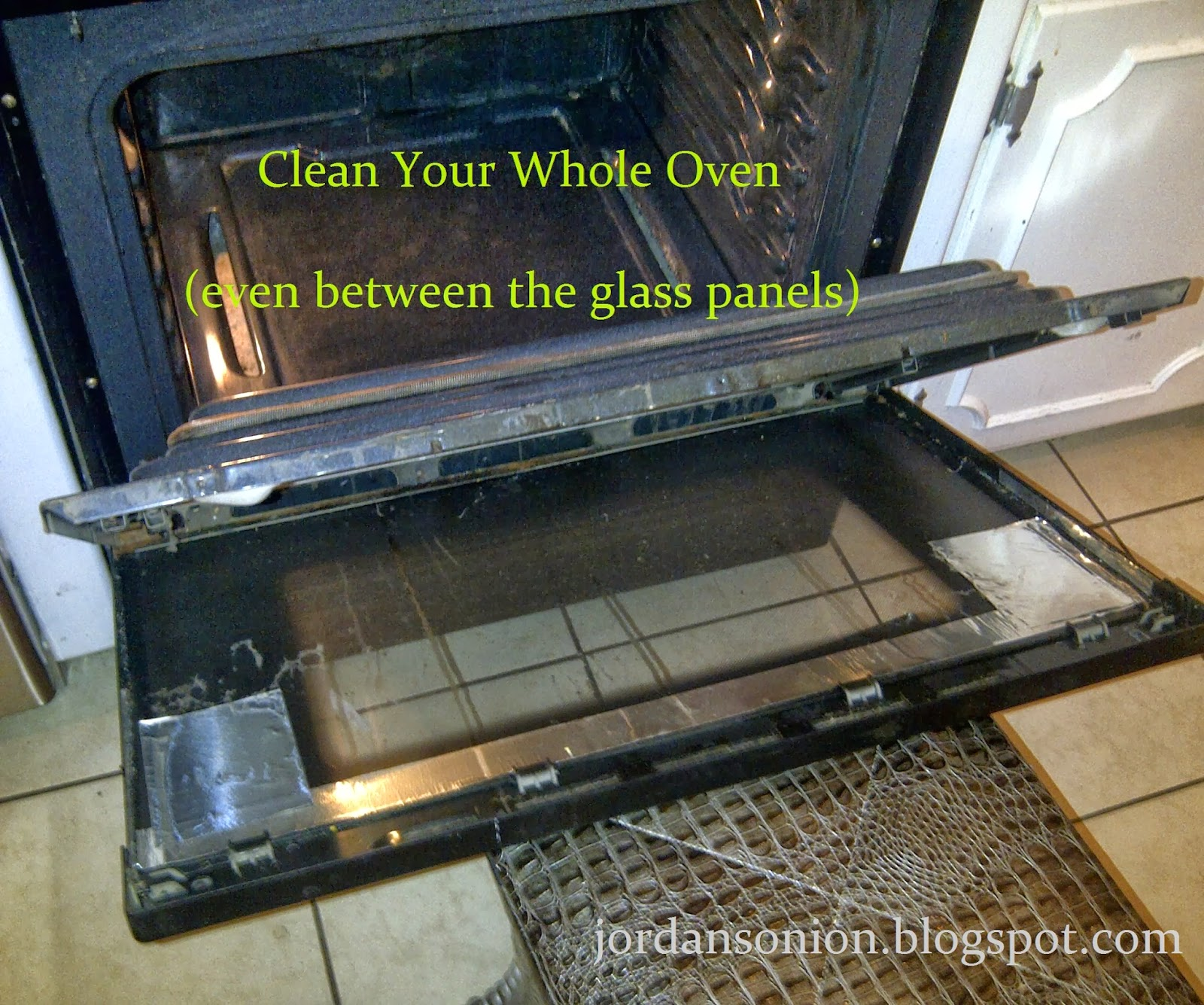 Clean Your Whole Oven (even Between The Glass Panels