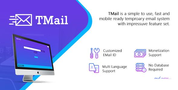 TMail v4.2 - Multi Domain Temporary Email System TechSter.XYZ