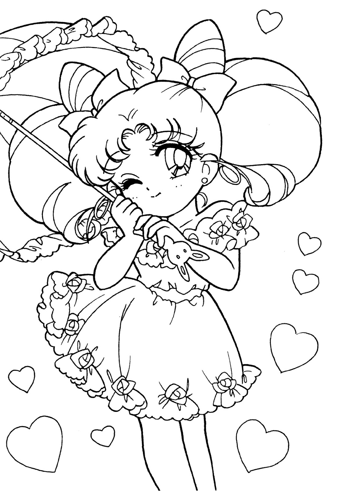 Dibujos Para Colorear De Sailor Moon Sailor Moon Spain