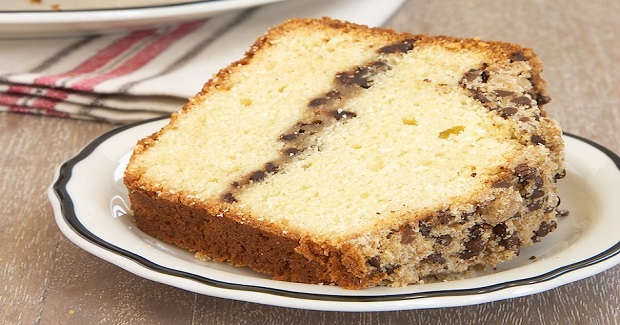 Chocolate Chip Crumb Pound Cake Recipe