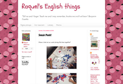 Raquel's English things - Raquel Macarrón