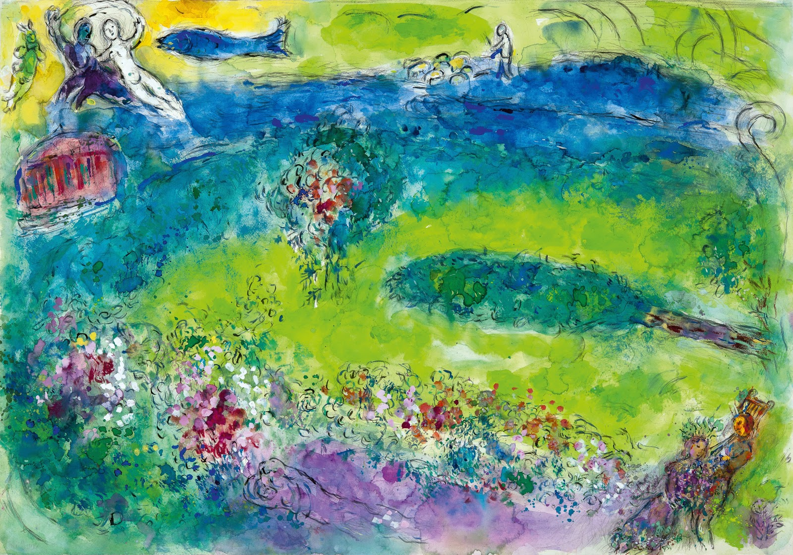 Art History News: CHAGALL: COLOUR AND MUSIC