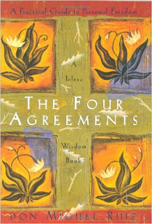 Image of the front cover of the book The Four Agreements by Don Miguel Ruiz