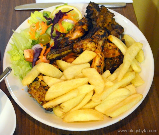 Madina Grill Halal London via Halal Eat - Mixed grill