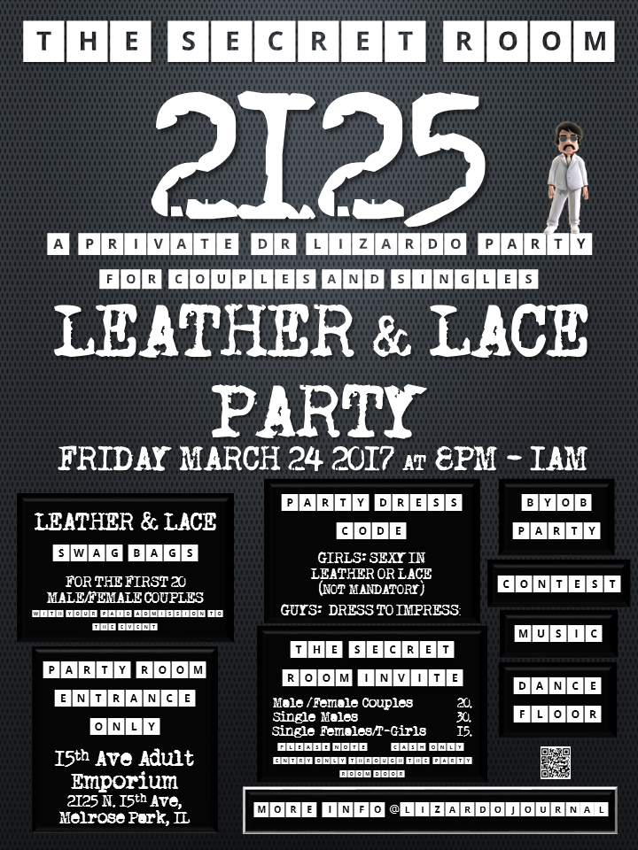 The Secret Room 2125: Leather & Lace Party!