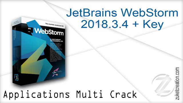 JetBrains WebStorm 2018.3.4 + Key