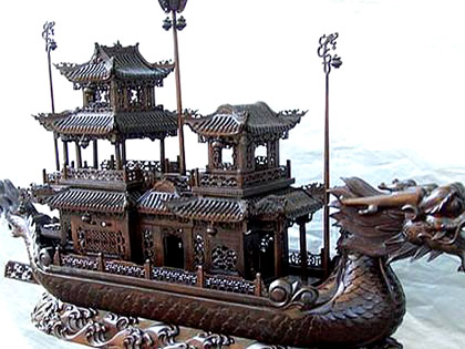 dragon boat of sui dynasty