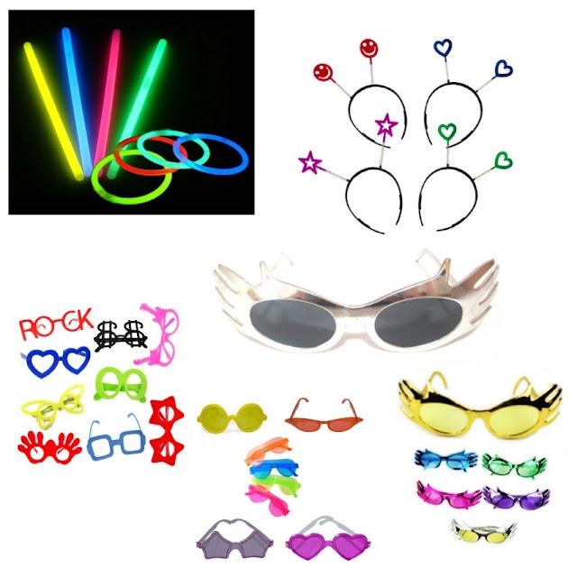 acessorios-para-festas-oculos-sem-lentes-oculos-com-lentes-e-oculos-metalizados