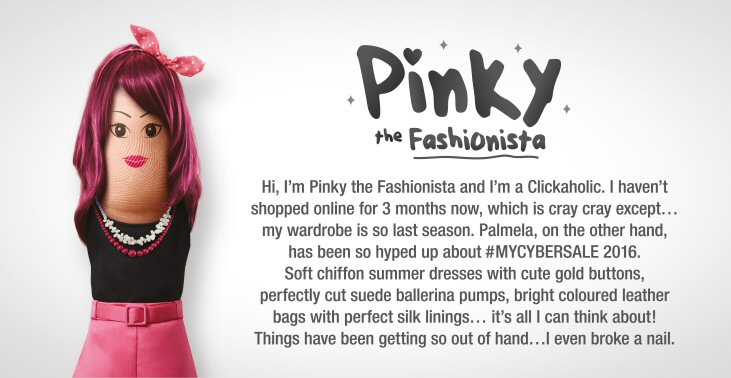 #MYCYBERSALE - Pinky, the Fashionista
