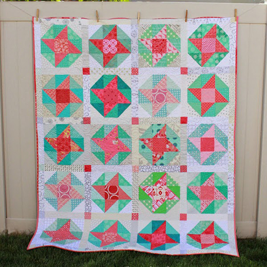Sun and Surf Quilt Free Tutorial