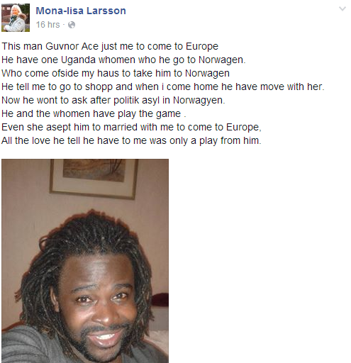 Guvnor ace and wife Mona Lisa split