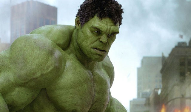 The Incredible Hulk in The Avengers 2012 movieloversreviews.filminspector.com