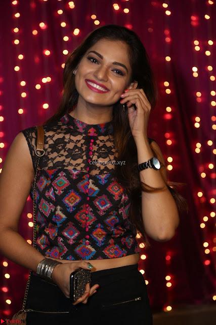 Aswini in Crop Top and Black Denim Jeans at at Zee Telugu Apsara Awards 2017 04.JPG