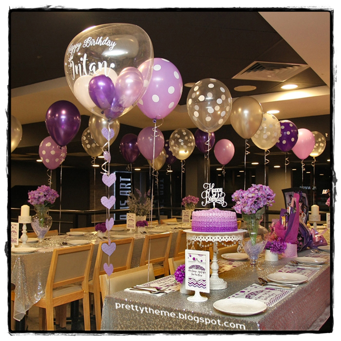 Pretty Theme Event Planner: Adult Birthday Bash