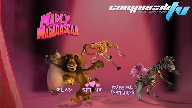Madly Madagascar DVDR NTSC Español Latino