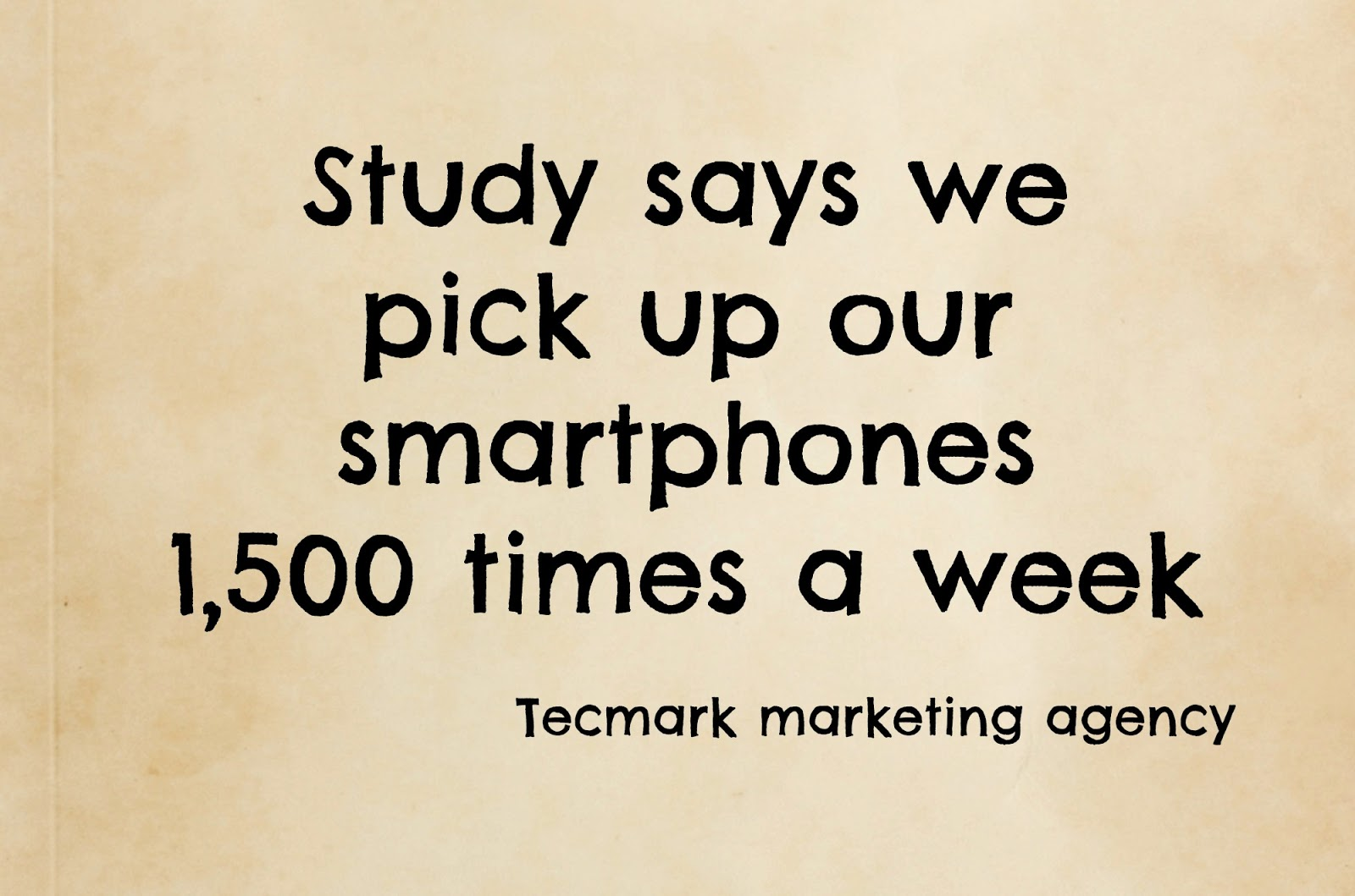 Take a Tech Timeout in 3 Easy Steps - Study says we pick up our smartphones 1500 times a week