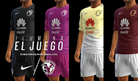 PES 2013 Club America Kit 2016-17 By BK-201