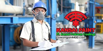 Lowongan Kerja PT. Kansai Prakarsa Coatings Jatiuwung