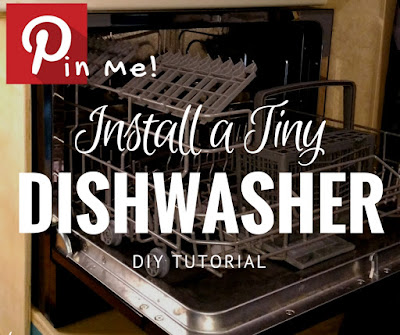 How to Install a real dishwasher in your tiny house or camper