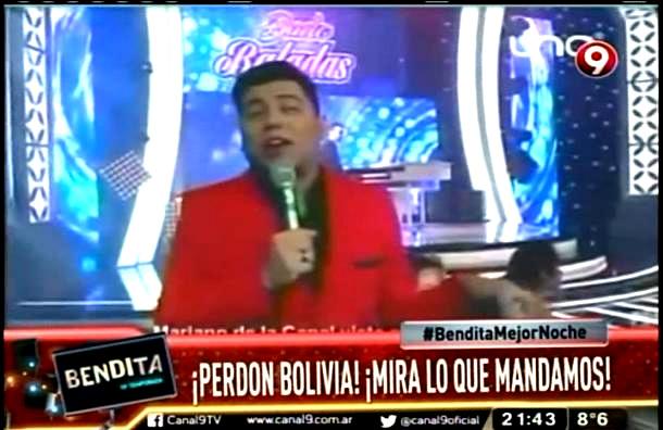 ARGENTINOS SE MOFAN DE MARIANO DE LA CANAL Y PIDEN PERDÓN POR MANDARLO A BOLIVIA