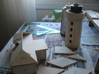Ahşaptan Şile Deniz Fenerinin Yapılışı