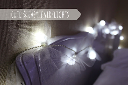 DIY | Cute fairy lights