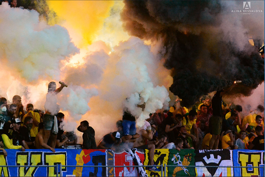Foto Friday Ukraine S Metalist Kharkiv Ultras Footy Fair