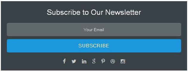Membuat Widget Email Subscribe Responsive di Blogger