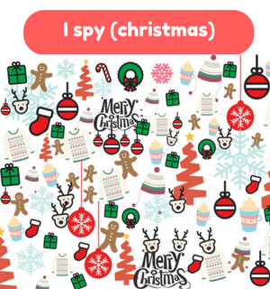 Printable Games by Practical Mom: I Spy (Christmas)