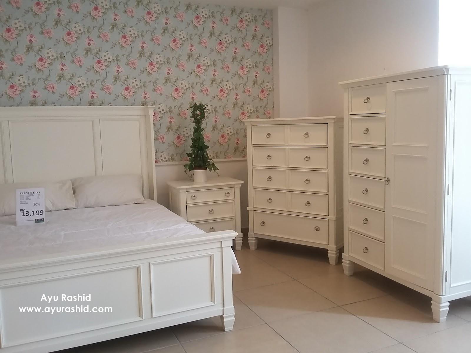 Perabot Bilik Tidur Putih Desainrumahid