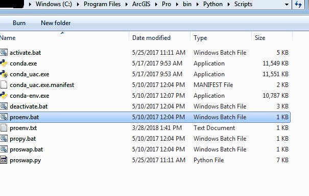 ArcGIS Pro, Conda, Jupyter, and ArcGIS for Python setup