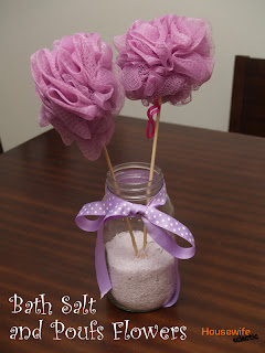 Housewife Eclectic Bath Pouf Flowers Alternative To Real