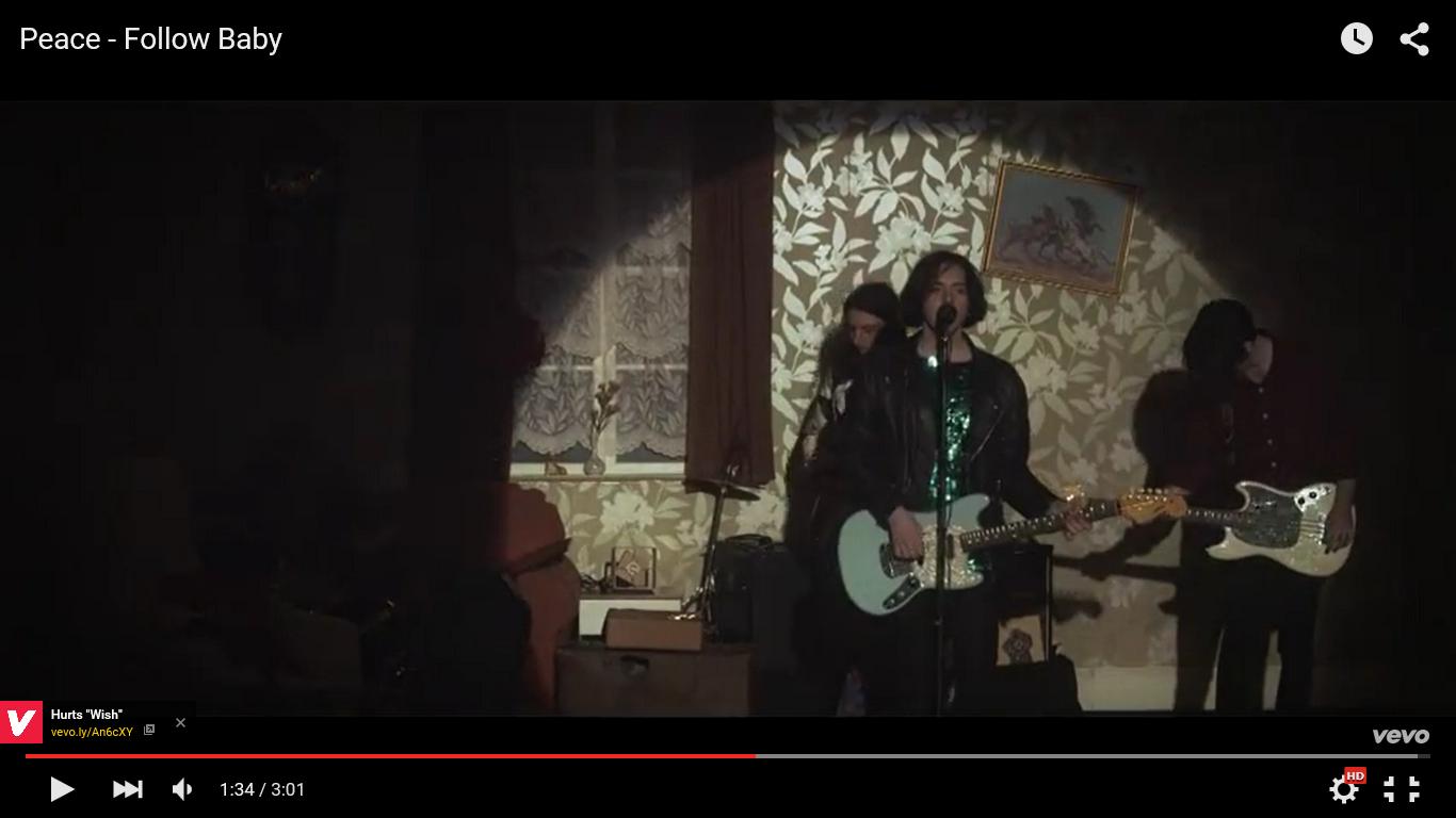 Music video : Peace - Follow Baby music video analysis